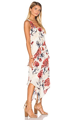 Haute Hippie Ruffle Hem Tank Dress in Lincoln