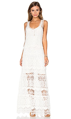 Haute Hippie The Lace Layers Dress in Vintage