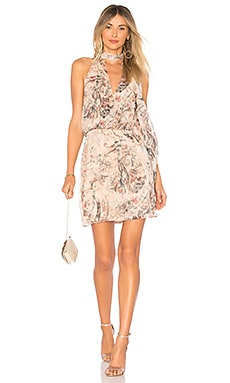 Ginny Halter Mini Dress Haute Hippie $115