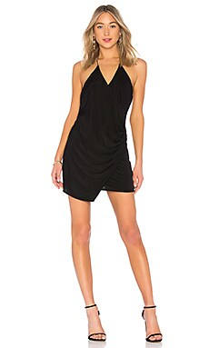 Sidewinder Cowl Mini Dress Haute Hippie $151