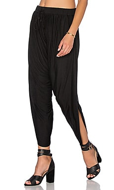 Haute Hippie Harem Pant in Black