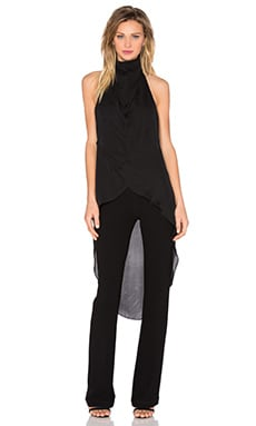 Haute Hippie The Caravan Onesie in Black