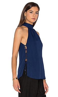 Haute Hippie The Morrison Tank in Midnight