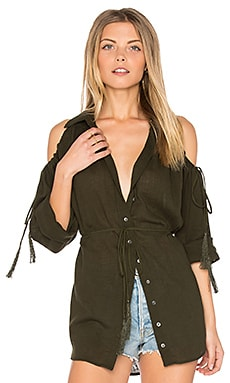Great Heights Tunic in Deep Military