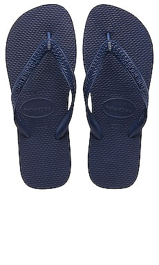 Top Flip Flop en Navy Blue