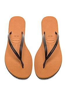 Havaianas You Flip Flop in Copper