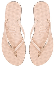 Havaianas You Flip Flop in Rose Gold