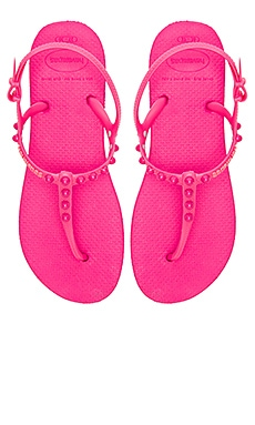 Freedom Candy Flip Flop en Rose Orchidée