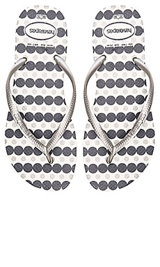 Havaianas Slim Fresh Flip Flop in White