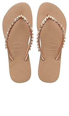 SLIM ROCK MESH 人字拖鞋 Havaianas $54