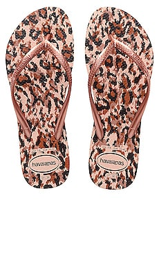 CHANCLAS SLIM ANIMAL Havaianas $28