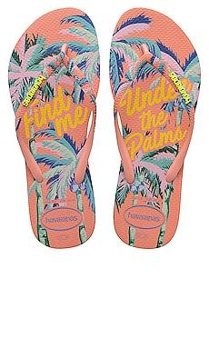 Шлепанцы slim summer - Havaianas