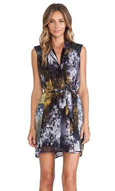 Hunter Bell Aubrey Dress in Midnight