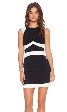Hunter Bell Noga Dress in Black