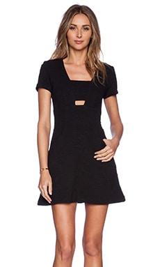 Hunter Bell Marvelle Dress in Black Geo