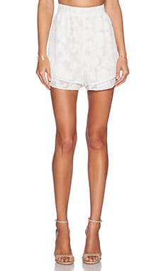 Hunter Bell Zoe Short in White Petal