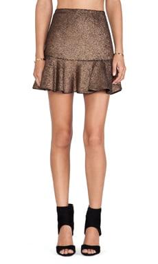 Hunter Bell Gored Skirt in Bronze