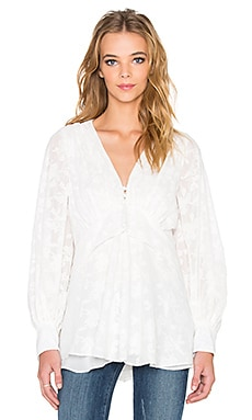 Hunter Bell Miller Top in White Lace