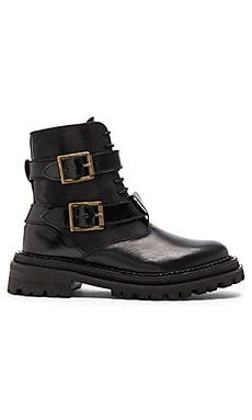 H by Hudson Kerb Boot in Black