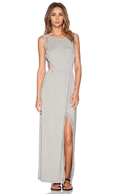 heartLoom Xavier Maxi Dress in Heather Grey