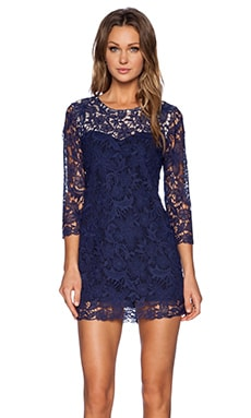 heartLoom Marlene Dress in Indigo