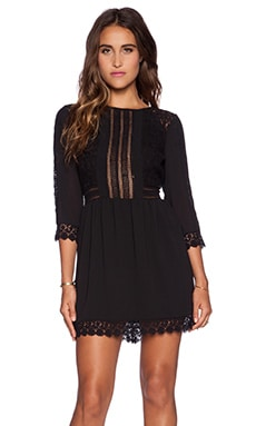 heartLoom Aimee Dress in Black