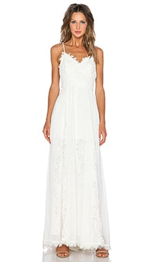 heartLoom x REVOLVE Sandra Gown in Antique Lace