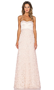 heartLoom x REVOLVE Gracie Gown in Champagne