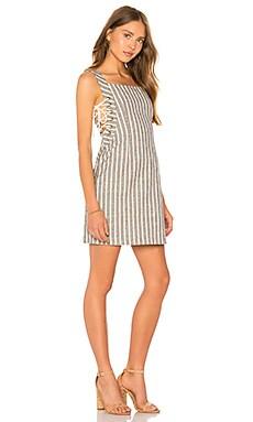 Купить Платье simone - HEARTLOOM, Прямое и свободное, Китай, Серый
