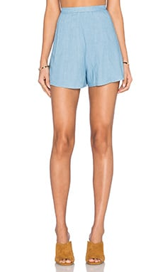 heartLoom Eve Short in Chambray