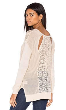 heartLoom Colette Sweater in Ecru