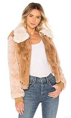 5b1e2f8cec33 Ryder Rabbit Fur Jacket HEARTLOOM $134 ...