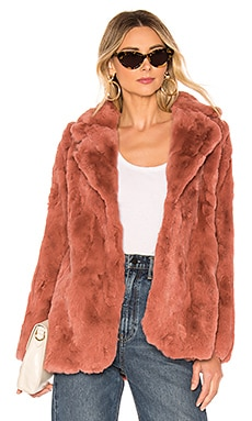 Una Fur Coat HEARTLOOM $145