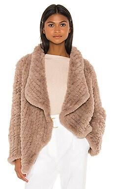 Ensley Faux Fur Coat HEARTLOOM $169