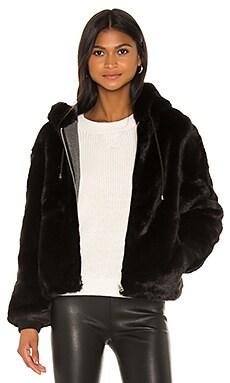 Wells Faux Fur Hoodie HEARTLOOM $101