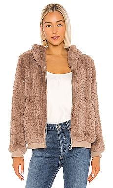 Peri Faux Fur Jacket HEARTLOOM $169