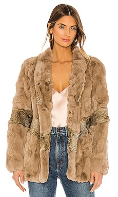 Dakota Fur Coat HEARTLOOM $369
