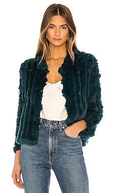Rosa Fur Jacket HEARTLOOM $218