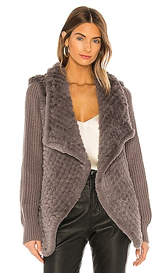 Tilly Faux Fur Coat HEARTLOOM $158 NEW ARRIVAL