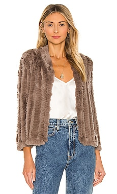 Rosa Fur Jacket HEARTLOOM $219