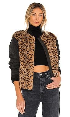 Elina Faux Fur Jacket HEARTLOOM $40 (FINAL SALE)