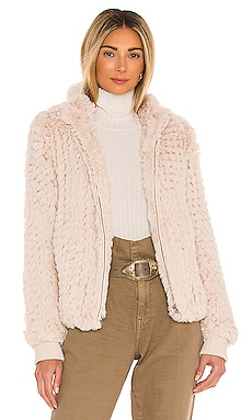 Lima Faux Fur Jacket HEARTLOOM $112