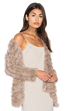 Tilda Rabbit Fur Jacket