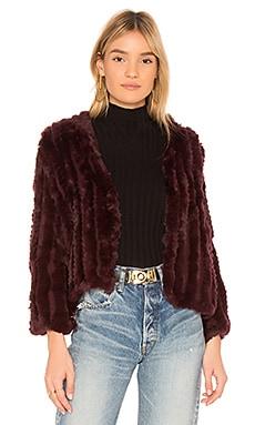 Rosa Fur Jacket HEARTLOOM $153