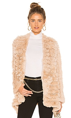 Tilda Fur Jacket HEARTLOOM $161