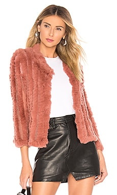 Rosa Fur Jacket HEARTLOOM $120