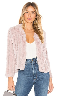 Rosa Fur Jacket HEARTLOOM $218 BEST SELLER