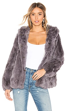 Yuko Fur Jacket HEARTLOOM $222