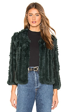 Rosa Fur Jacket HEARTLOOM $131
