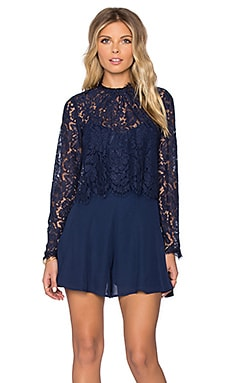 heartLoom Minnie Romper in Midnight